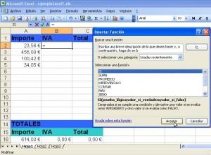 Cálculo del IVA completo